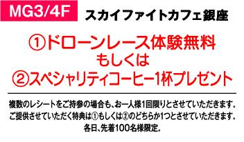 SKY FIGHT CAFE Ginza